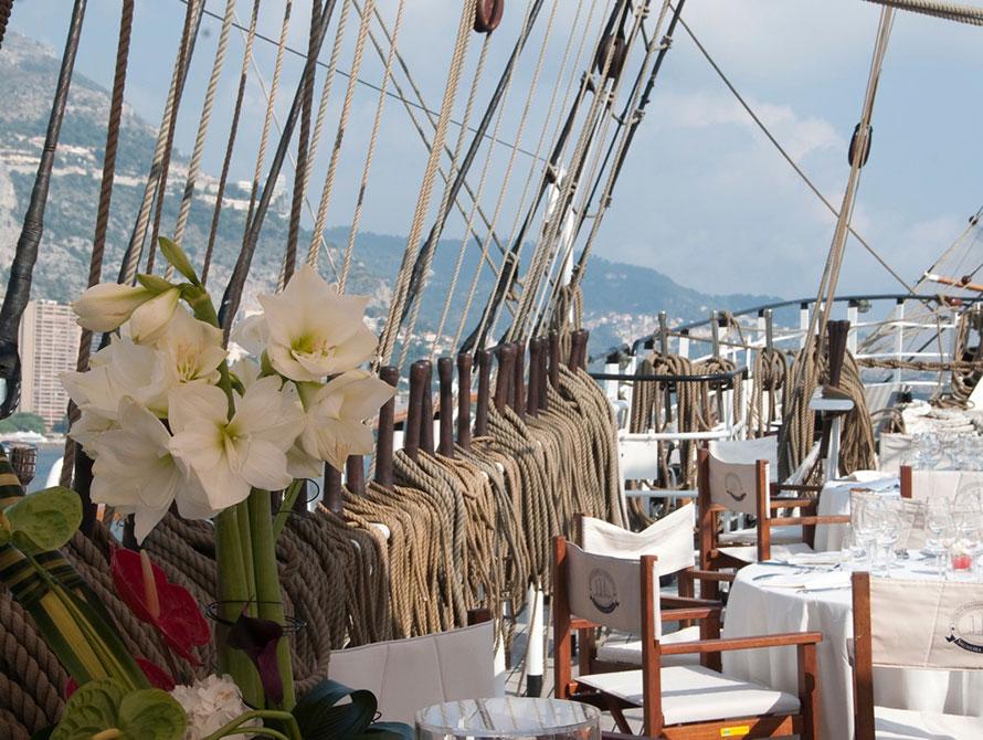 Tatiana Alciati Wedding & Events Locations Italia Veliero d'epoca